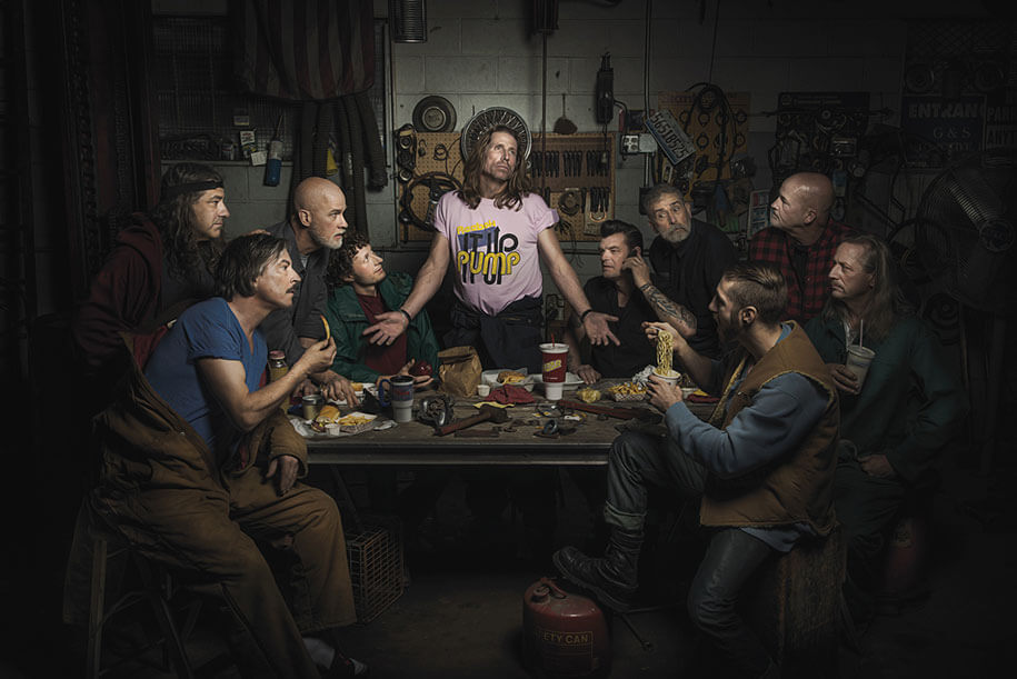 The Last Supper by Leonardo da Vinci Freddy Fabris