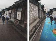 Wet Street Murals of Korea