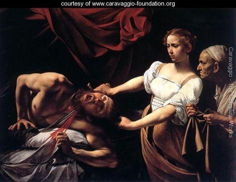 Caravaggio Judith Beheading Holofernes c. 1598