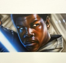 """FN 2187"" Airbrush 12"" x 12"" Canvas Art by: Anh Pham Art supplies by: usartsupply.com"