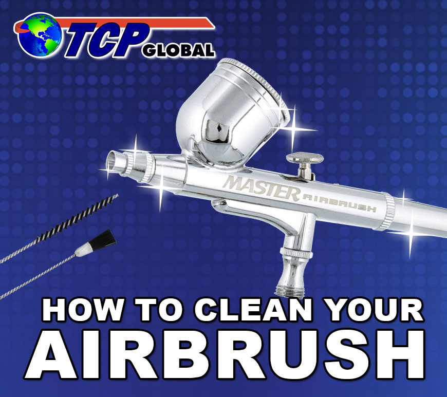 How to Clean your Gravity Feed Airbrush