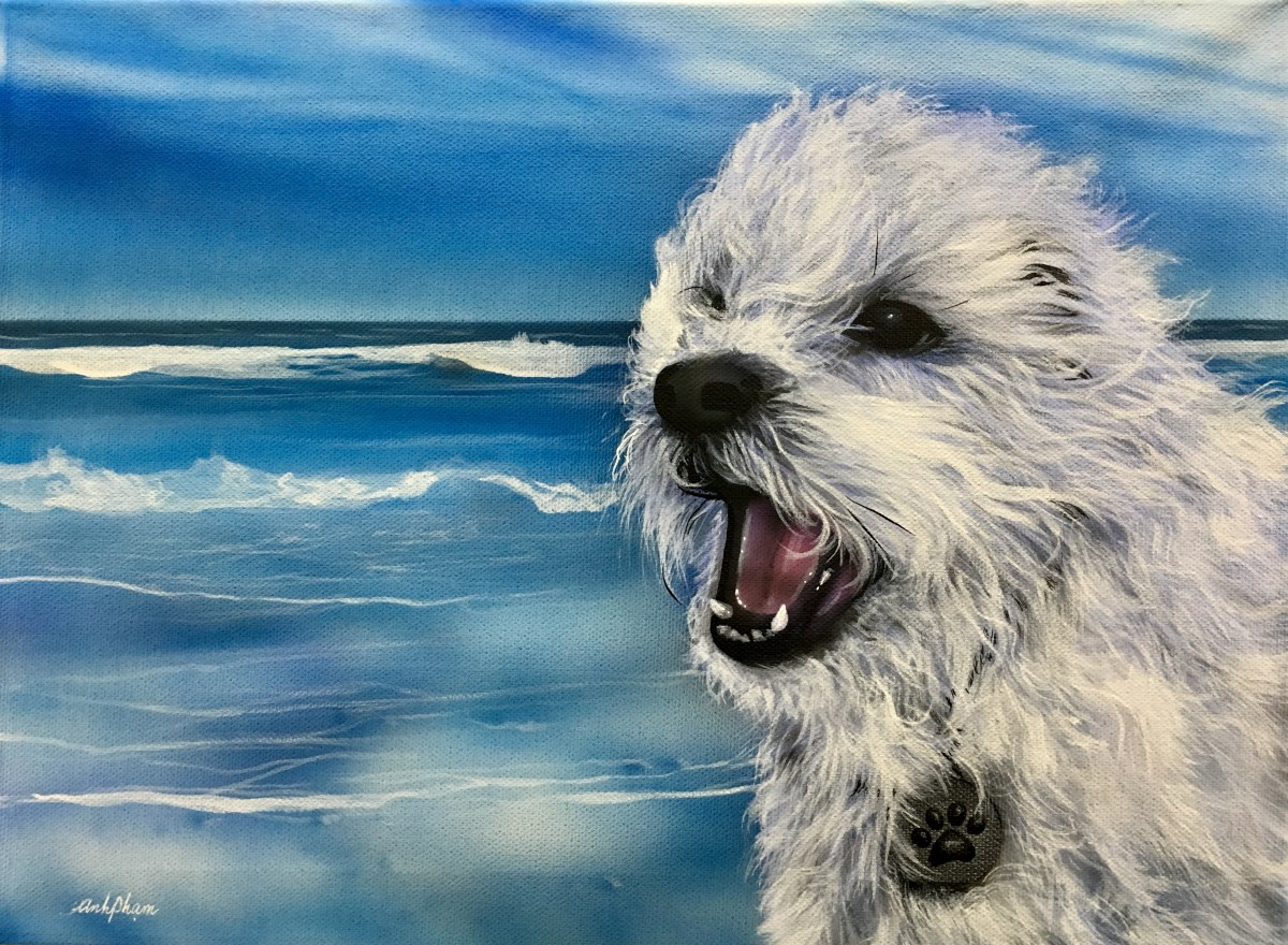 How to paint realistic Pet Portraits from a Photo