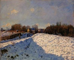 alfred-sisley_effect-of-snow-at-argenteuil_1874