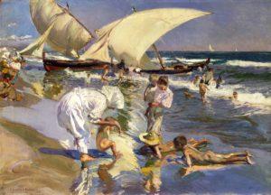 Joaquin_Sorolla,_1908_-_Beach_of_Valencia_by_Morning_Light