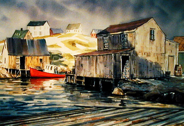 donna-dickson-painting-peggycove