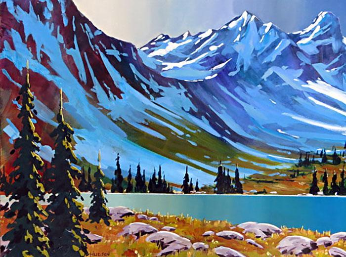 Alpine Valley by Phillipa Hudson, Deep Cove area Vancouver Island, B.C. Canada