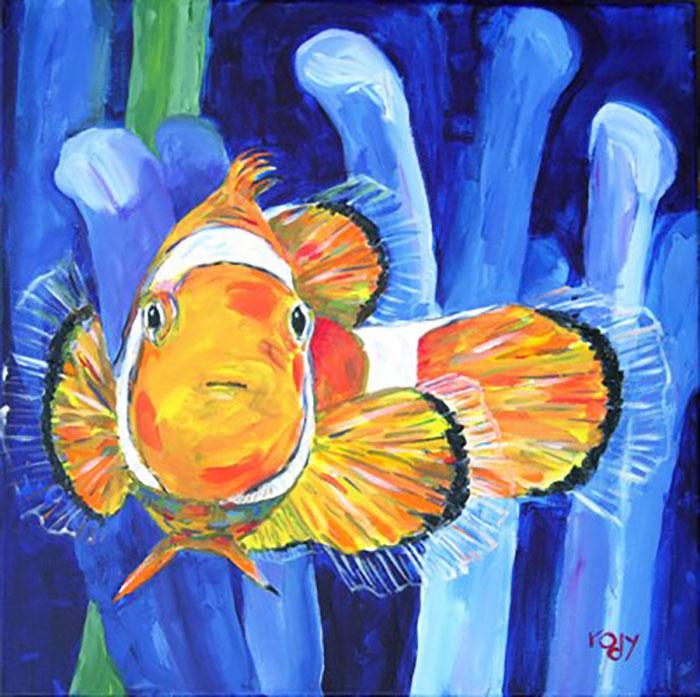Clownfish by Kim Rody, Stuart, Florida, USA
