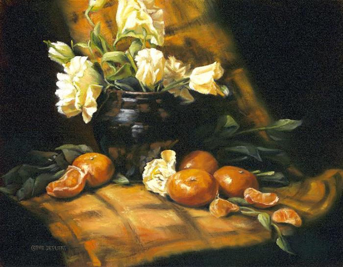 Still an Orange by Pat Deputat, Alberta, Canada