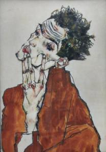 Egon-Schiele_self-portrait