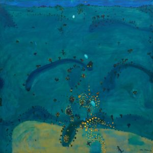 john-olsen_nightfall-when-_1980
