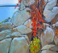 Robert_Genn_From_Quathiaski_Cove_Quadra_Island