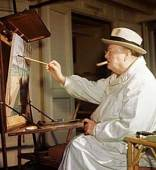 Winston-Churchill_easel