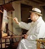 Winston-Churchill_easel