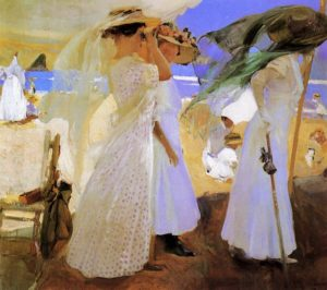 Joaquin-Sorolla_Beneath-the-Canopy_1910
