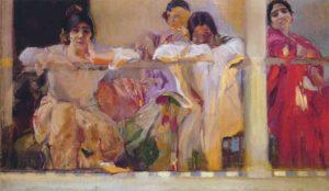 joaquin-sorolla_artists-patio-cafe_1915