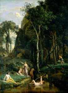 Camille-Corot_Diana-Surprised-at-her-Bath