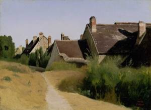 corot_houses-near-orleans