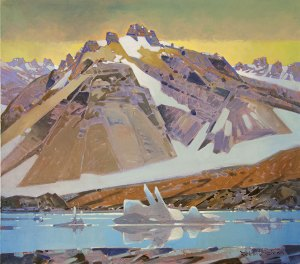 robert-genn_above-berg-lake
