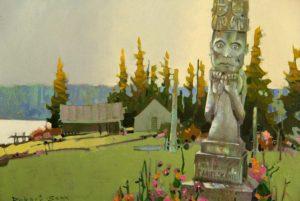 Robert_Genn_Silent_Village_and_a_Tribute_to_Daniel