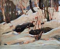 Tom-Thomson_Thaw-Snow-Banks_1917