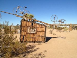 No Contest (Bicycles,) 1991 by Noah Purifoy