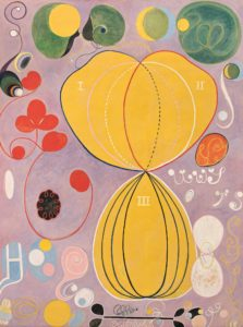 The Ten Largest, No. 7, Adulthood (1907) guoache on paper by Hilma af Klint