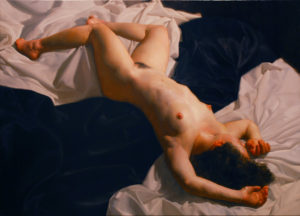 Candace, 2006 oil on canvas 36 x 50 inches by Jacob Collins (b.1964)