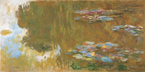 The Water Lily Pond, c. 1917-1919 oil on canvas by Claude Monet
