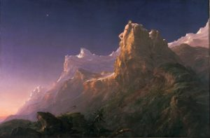 Prometheus Bound (1847) oil on canvas by Thomas Cole