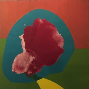 Untitled, 2000 oil on canvas 48 x 48 inches by Dorothy Hood