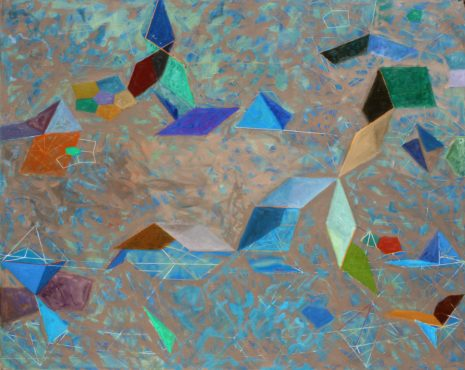 Tony Robbin, 2013-O-12, 2013, Oil on Canvas, 65 x 70 in