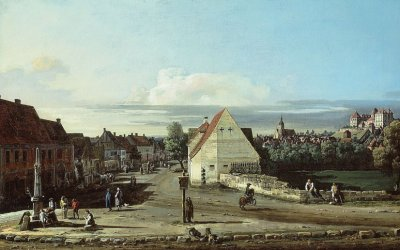 Richard Estes on Bernardo Bellotto