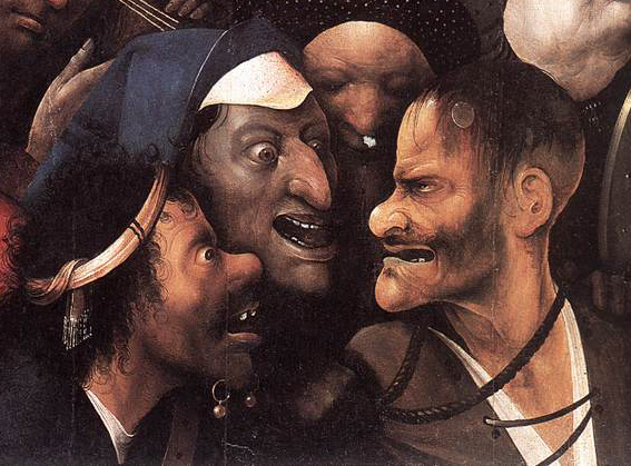 Image result for three colours bosch paintings