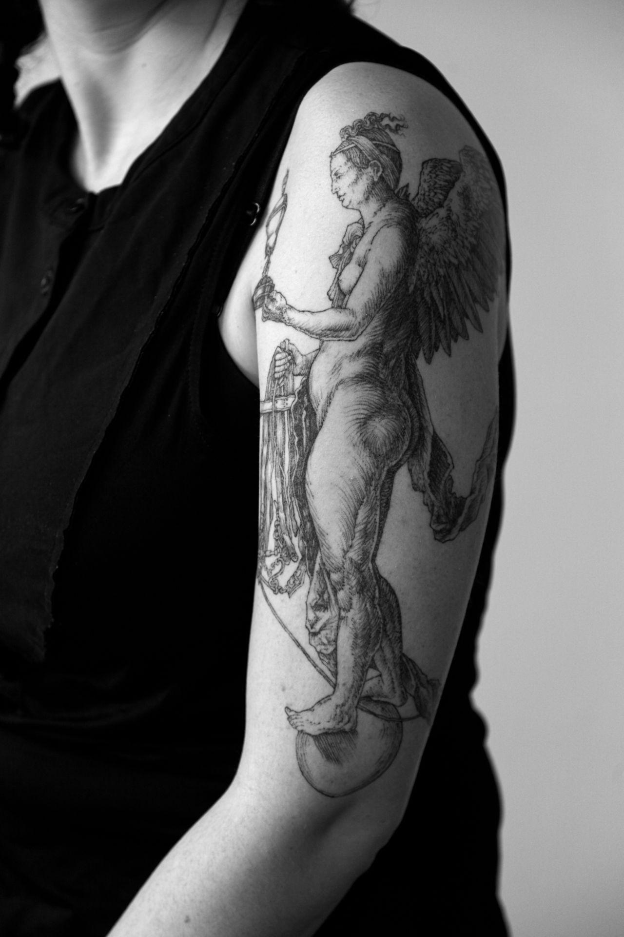Albrecht durer knight death and the devil tattoo