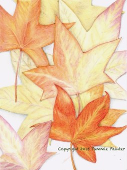 """""""In the Fall"""" 8x10"""" Colored Pencil on Bristol"""