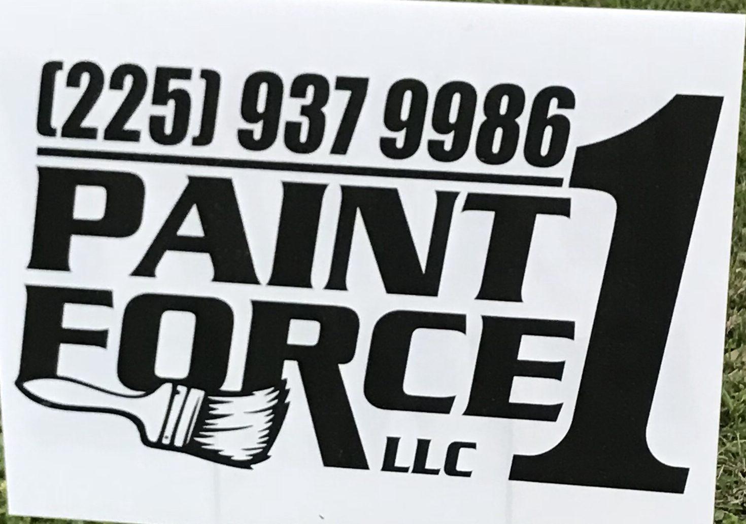 PaintForce1, LLC Painting Service in Baton Rouge,La.