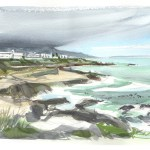 Hermanus - Simon Roberts - painting in france