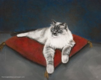 Example of Pet Portraits - Painting