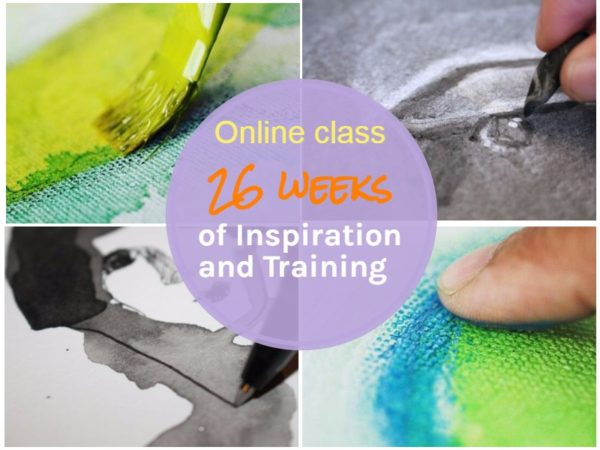 New Online class: 26 weeks of inspiration and training.