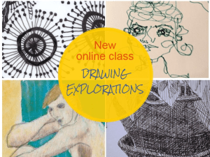 New Online Class: 12 weeks of drawing inspiration