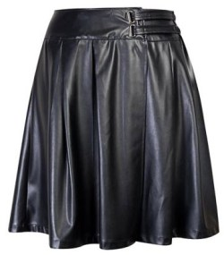 Mini Pleather Wrap Midi Skirt R79.99