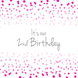 2nd birthday PSD