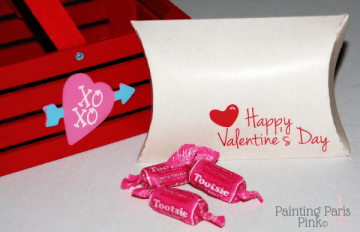 Valentine Kraft Pillow Box