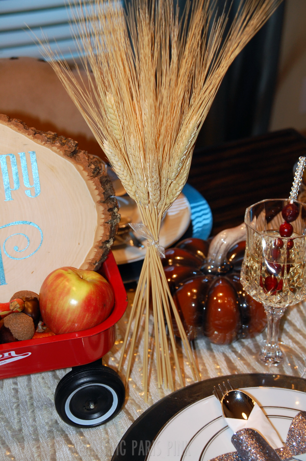 Wheat Stalk Table Decor