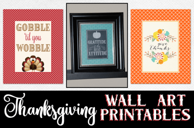 Thanksgiving Free Printable Wall Art