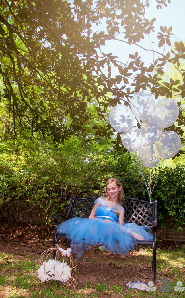 Tutu Dress on Bench