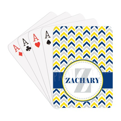 Chevron Playing Cards