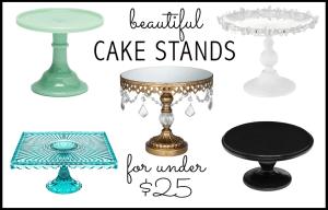 Cake Stands under $25