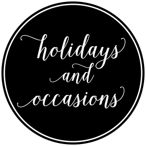 Holiday & Occasions