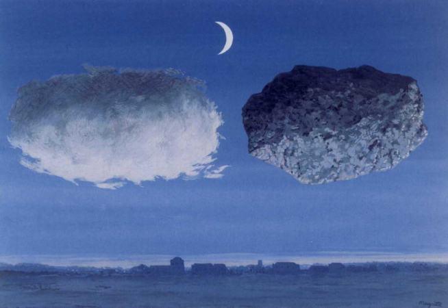 Рене Магритт, картина Аргоннская битва